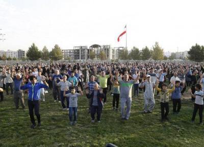همایش ورزش صبحگاهی در قزوین برگزار گردید