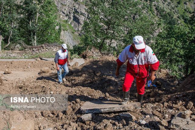 امدادرسانی در 22 شهرستان گرفتار سیل و آبگرفتگی، نجات 709 نفر تاکنون