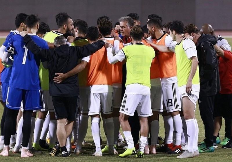 برگزاری آخرین تمرین تیم ملی پیش از مصاف با ونزوئلا
