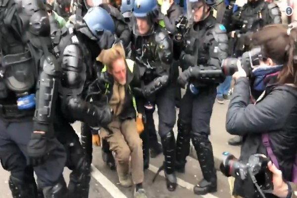 33 هزار نفر در فرانسه و 3 هزار پاریسی در تظاهرات امروز شرکت کردند