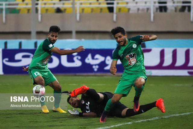 تساوی ذوب آهن ایران و الکویت کویت در 90 دقیقه، ادامه تقابل دو تیم در وقت های اضافه