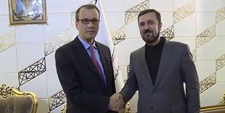 مدیرکل موقت آژانس وارد تهران شد