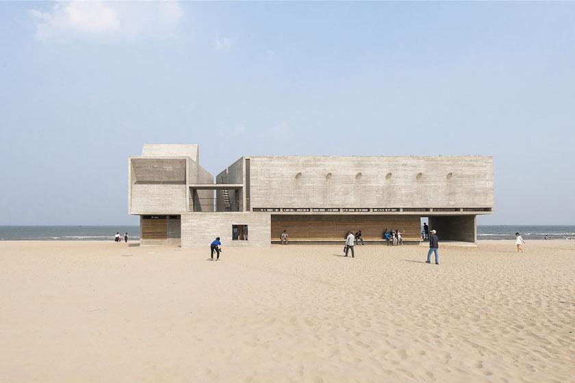 کتابخانه ساحلی ناندایهه چین، تجربه متفاوت کتاب خوانی