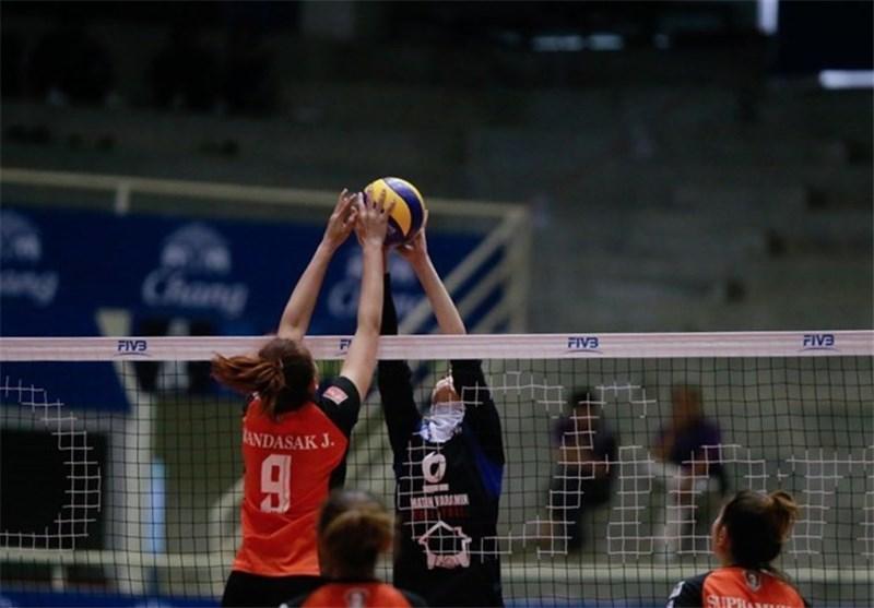 تیم ملی والیبال زنان ایران مغلوب تایلند شد