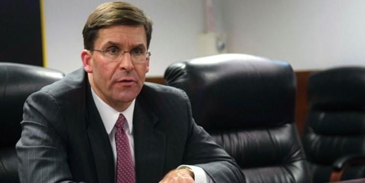 وزیر دفاع آمریکا: به طور موقت در عراق اسکان یافتیم