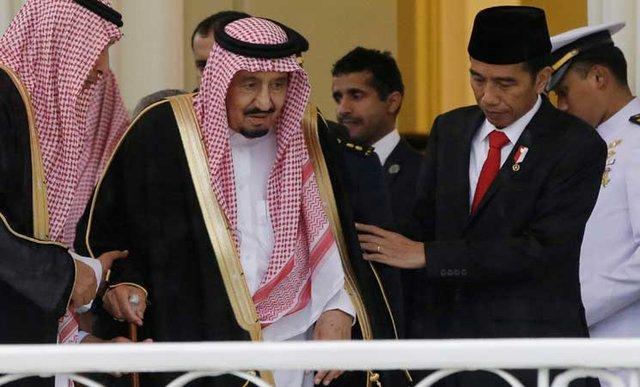 پادشاه عربستان در اندونزی بر لزوم خشکاندن منابع تروریسم تاکید نمود