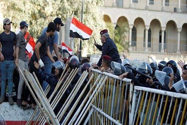 بازداشت شماری از معترضان در عراق