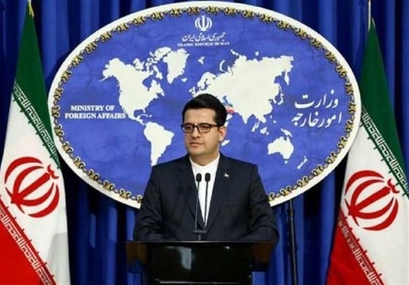 پیغام توئیتری سخنگوی وزارت خارجه درباره رزمایش مشترک ایران، روسیه و چین