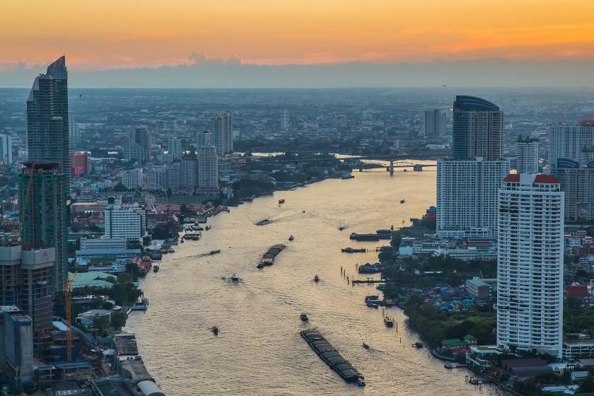 چشم نوازترین ساختمان ها در بانکوک ؛ تایلند