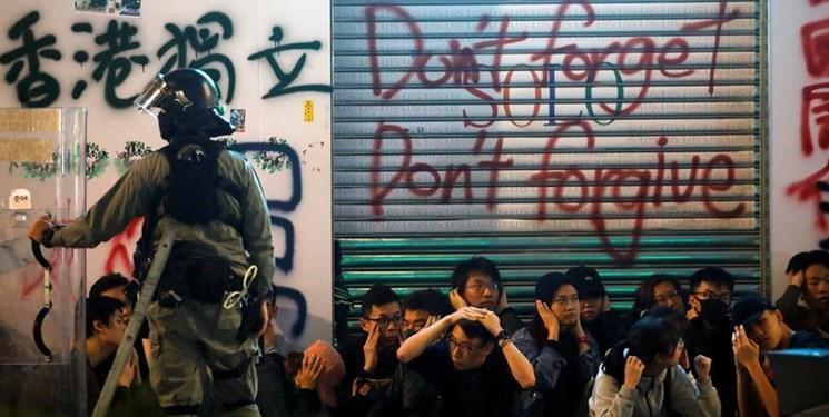 بازداشت 400 نفر در ناآرامی های روز اول سال 2020 در هنگ کنگ