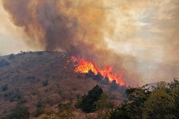 غفلت گردشگران و چوپان ها، آتش جان مراتع