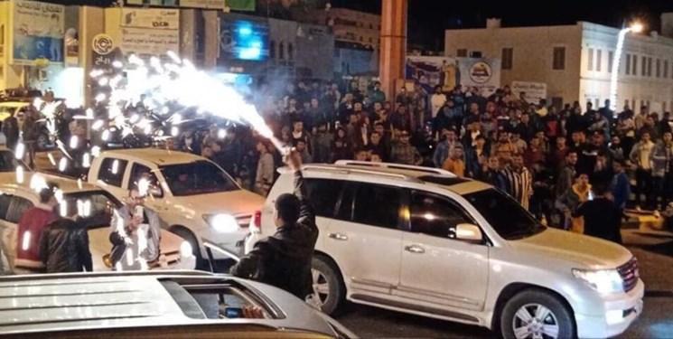 لیبی ، تظاهرات در مصراته در محکومیت حملات حفتر