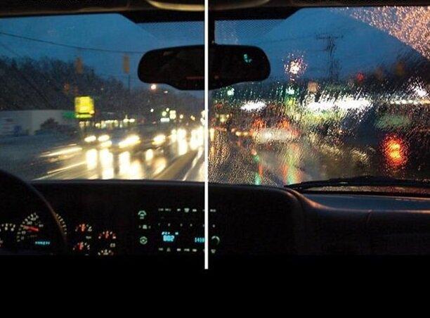 اسپری هایی که موجب بهبود دید رانندگان در روزهای بارندگی می گردد