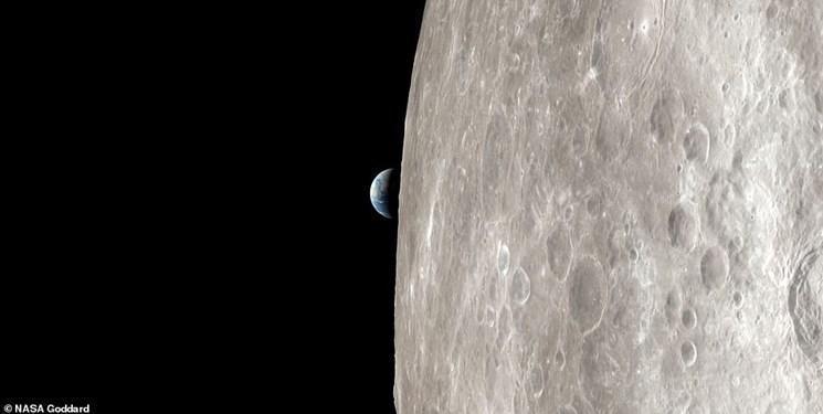 پدیده اَبر ماه را مشاهده کنید