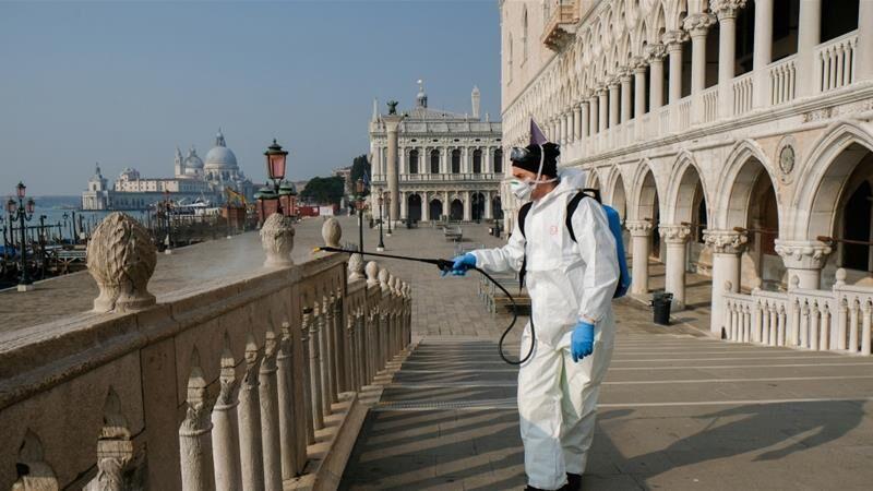 خبرنگاران شتاب کرونا در ایتالیا؛ 250 مرگ در 24 ساعت گذشته