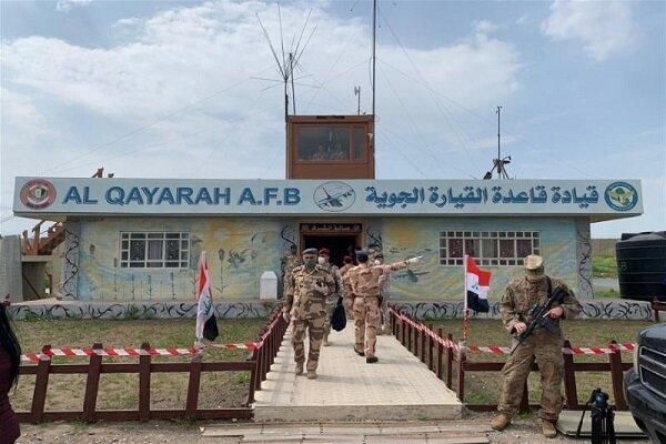 ائتلاف آمریکایی در عراق پایگاه القیاره را تحویل نیروهای عراقی داد