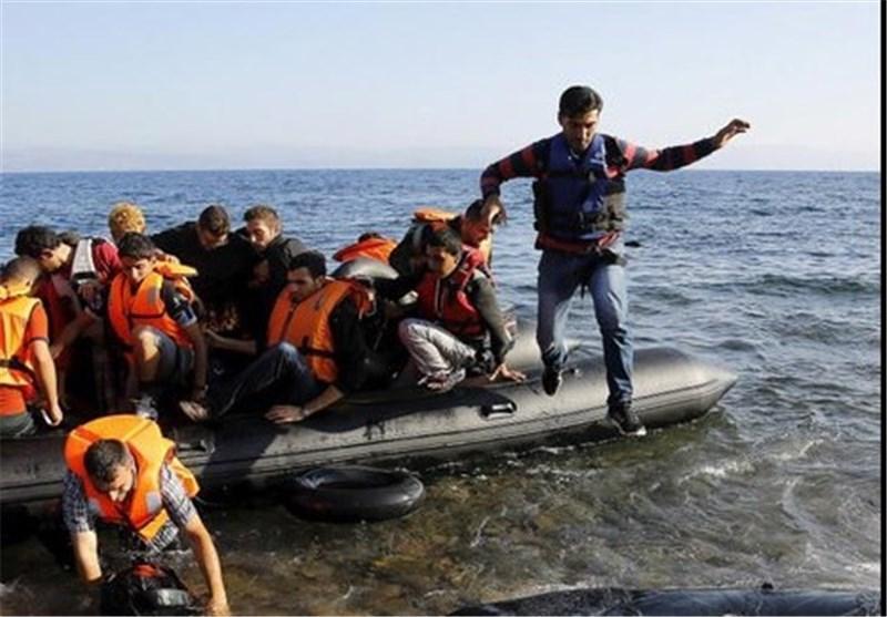 ناپدید شدن 30 مهاجر بر اثر غرق شدن قایق در نزدیکی سواحل یونان