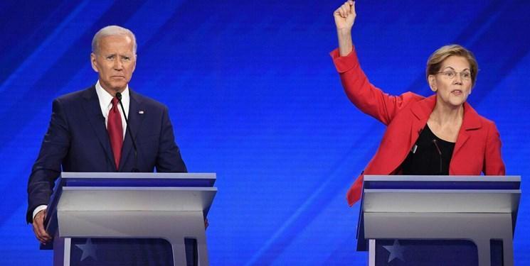 انتخابات آمریکا، الیزابت وارن نیز از جو بایدن حمایت کرد
