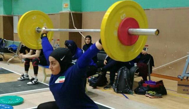 بانوی وزنه بردار ایران: حس کردم در وزنه برداری پیروز تر از پرتاب دیسک هستم