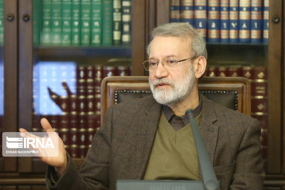 خبرنگاران تاکید رییس مجلس شورای اسلامی بر روابط راهبردی ایران و چین