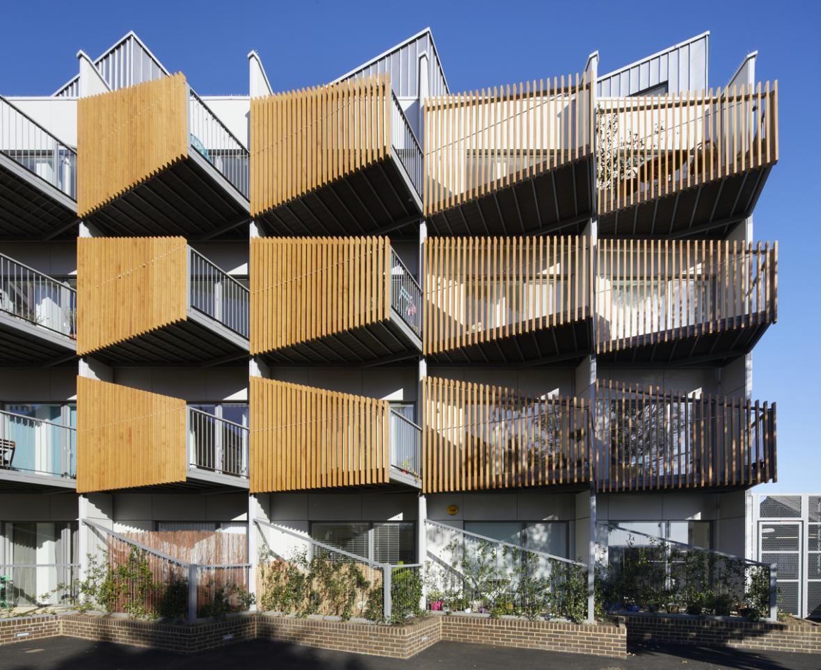 طراحی نما مجتمع مسکونی