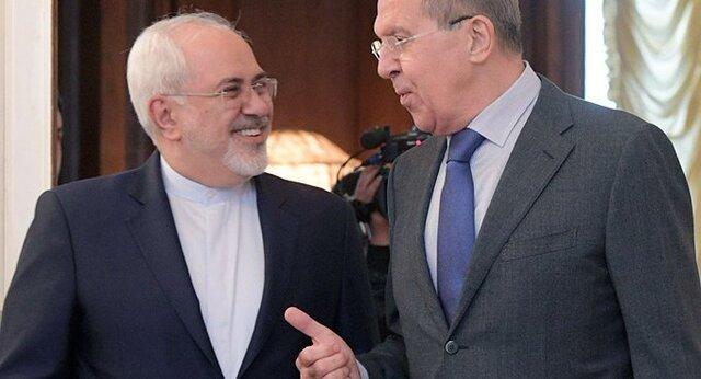 پیغام تبریک ظریف به لاوروف به مناسبت روز ملی فدراسیون روسیه