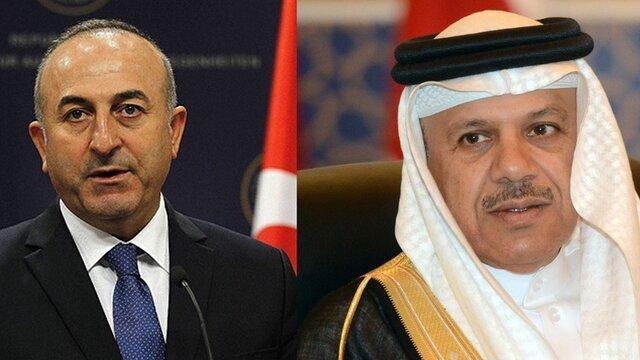 تماس تلفنی وزرای خارجه ترکیه و بحرین