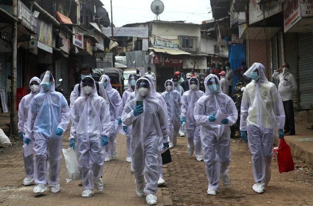 ثبت رکورد موارد ابتلا به کرونا در هند برای هشتمین روز متوالی