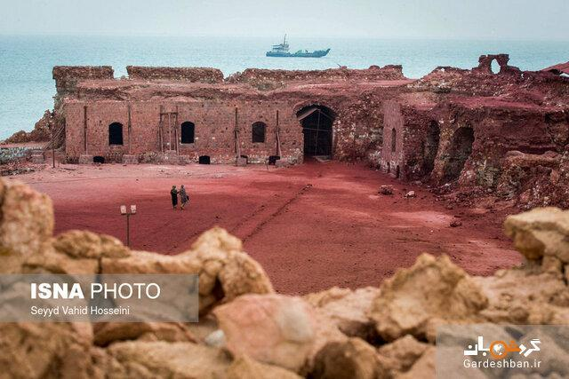 ماجرای حواشی پیش آمده در بازسازی قلعه پرتغالی ها