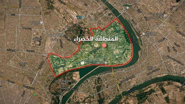شلیک 2 موشک به نزدیکی سفارت آمریکا در بغداد