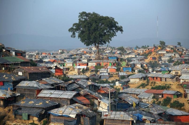 اعتراض سکوت مسلمانان روهینگیا در سالگرد فرار به بنگلادش