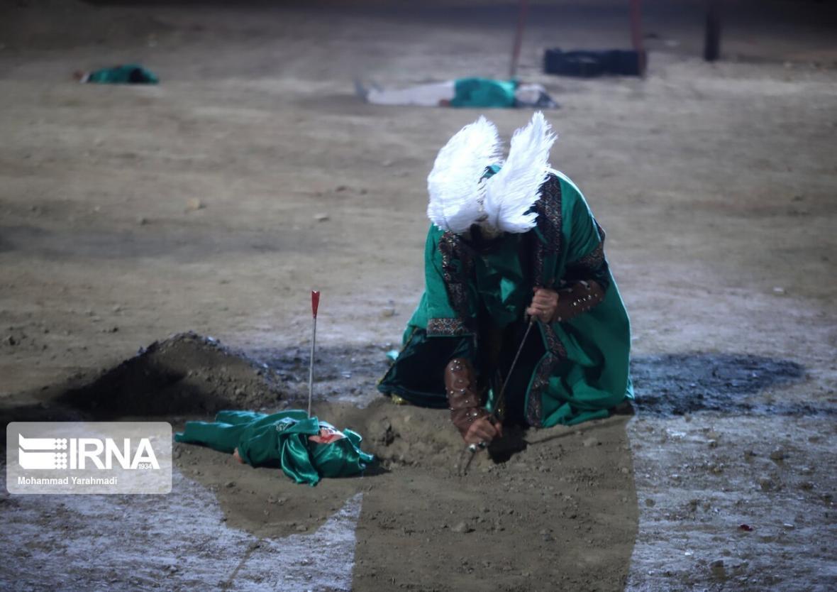 خبرنگاران سوگواره کربلا در تالار نژاد فلاح کرج اجرا می گردد