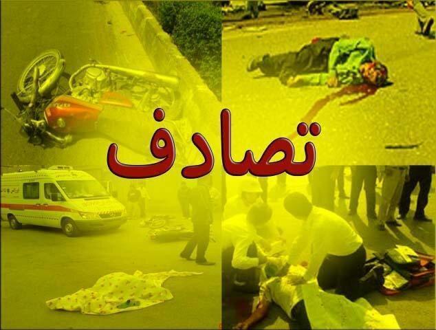 فوت 13 نفر در بروجرد بر اثر تصادفات درون شهری