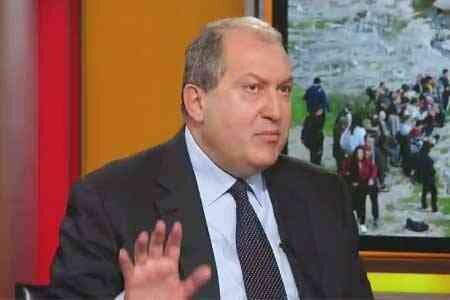 درخواست رئیس جمهور ارمنستان از پوتین برای یاری به بازگشت اسرا