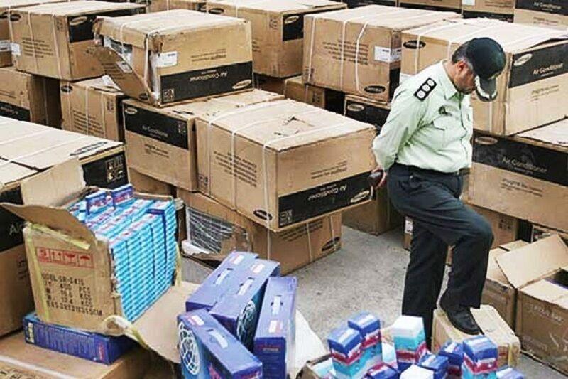 خبرنگاران کشف 3 میلیارد تومان کالای قاچاق در تهران