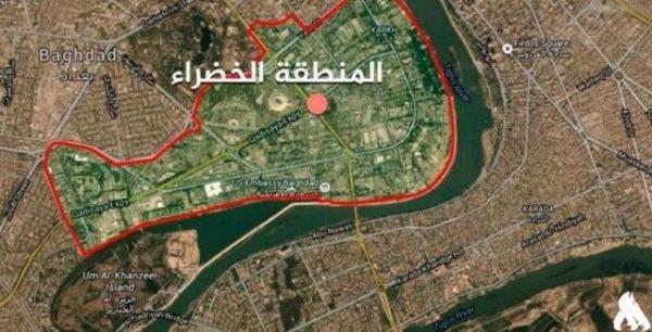 مخالفت کتائب حزب الله و الاعلام الامنی با حمله دیشب به منطقه الخضراء بغداد