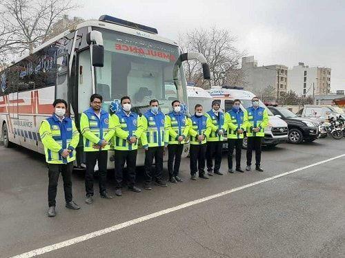 خبرنگاران اجرای طرح امداد زمستانه اورژانس 115 در خراسان رضوی شروع شد