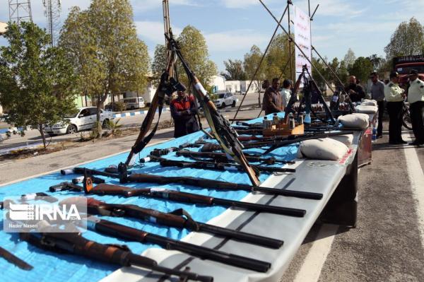 خبرنگاران 2 باند خرید و فروش سلاح در لرستان منهدم شد