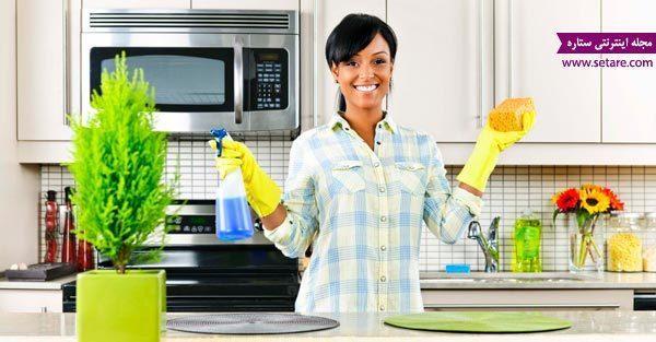 مهم ترین نکات خانه تکانی؛ نظافت و تمیزکاری وسایل خانه