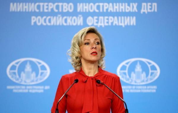 زاخارووا: آمریکا برای تحریم روسیه دلیل تراشی می نماید