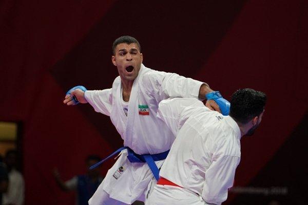سرگروه تیم ملی کاراته به ملاقات نهایی راه یافت