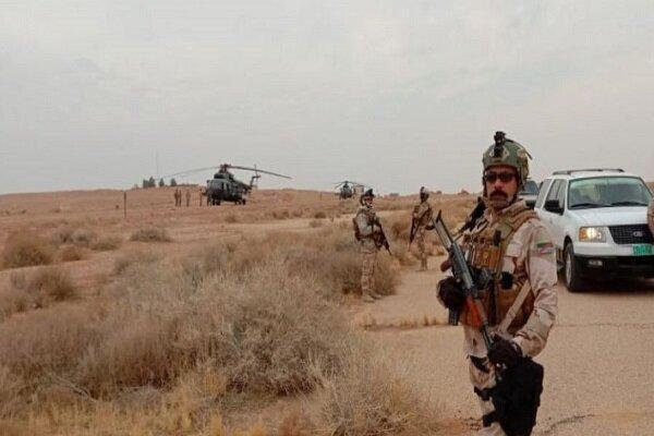انهدام مخفیگاه های بقایای عناصر داعش در استان دیالی