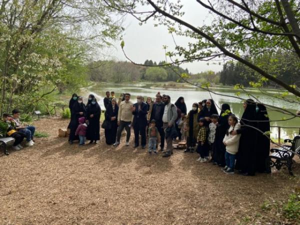 تهران گردی 250 نفر از پاکبان ها و خانواده های آنها در روزهای نخستین سال 1400