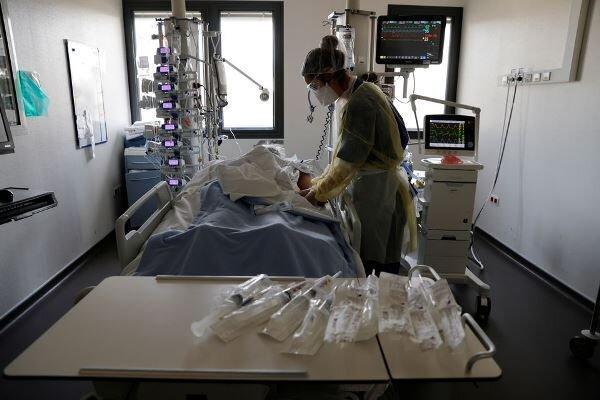 شمار بیماران بدحال کرونایی در فرانسه به حدود 6 هزار نفر رسید