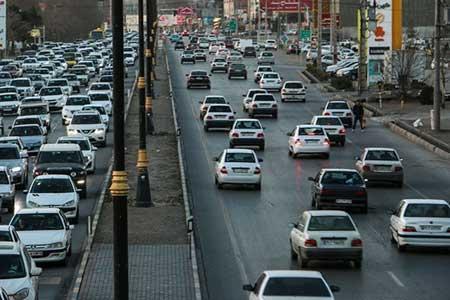 انسداد 9 جاده به دلیل کاهش ایمنی در جهت، آزادراه کرج-تهران با 102 هزار تردد پرترافیک ترین جاده کشور