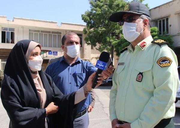 خبرنگاران دزد مسلح در کرمانشاه با اقتدار پلیس زمین گیر شد