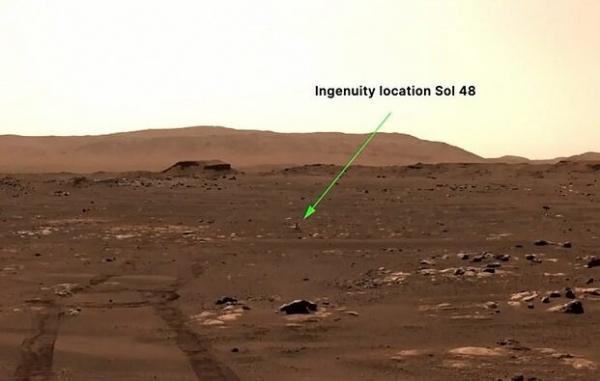 جزئیات پرواز تاریخی بالگرد مریخی نبوغ ناسا