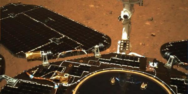 تصاویر جدید از کاوشگر چین بر روی سطح مریخ