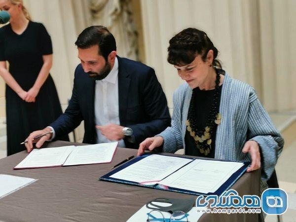 بین موزه نیاوران و پوشکین روسیه تفاهمنامه همکاری امضا شد