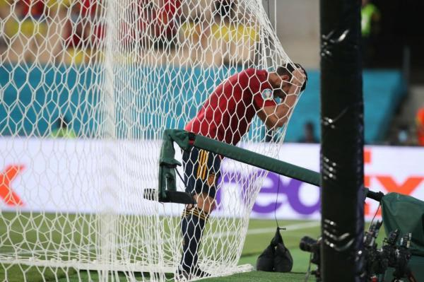 اسپانیا 0 - سوئد 0؛ فرصت سوزی لاروخا در دیداری یکطرفه
